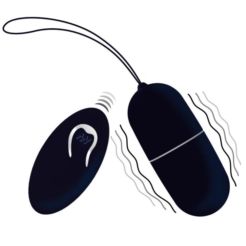 Intense Flippy I Huevo Control Remoto Negro