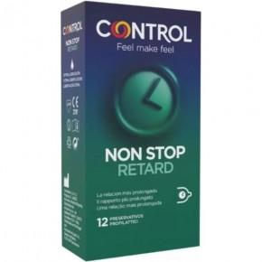 CONTROL PRESERVATIVOS NON STOP RETARD 12UDS