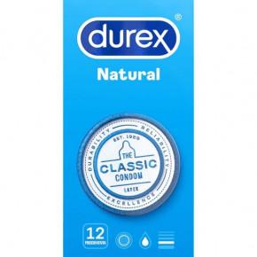 DUREX NATURAL PLUS 12 UDS