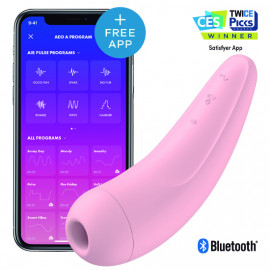 SATISFYER CURVY 2+ - ROSA