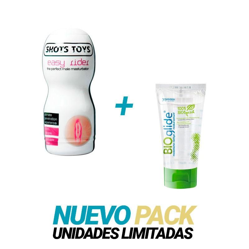 Easy Rider Vagina + Bioglide Lubricante 40 ml