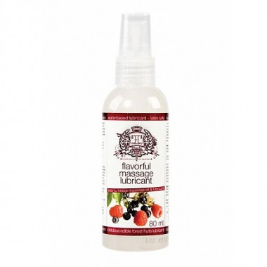 TOUCHE ICE LUBRICANTE COMESTIBLE FRUTAS DEL BOSQUE 80 ML