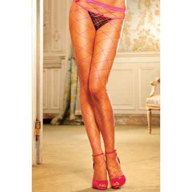 BACI PANTIES DE RED DIAMANTE ROSA