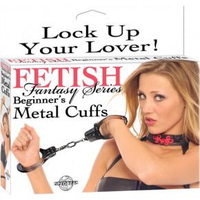 Fetish Fantasy Esposas de Metal Principiantes