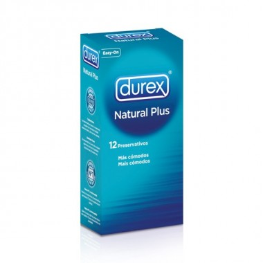 DUREX NATURAL PLUS 12 UDS