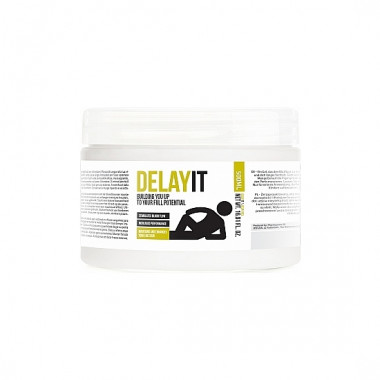DELAY IT BUILDING YOU UP TO YOUR FULL POTENTIAL GEL RETARDANTE 500ML