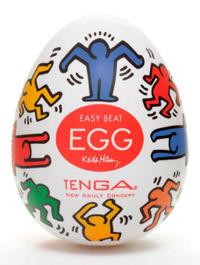 huevos Keith Haring